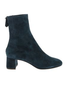 Aquazzura - Saint Honoré boots in teal blue