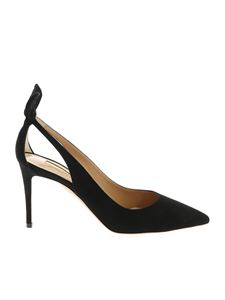 Aquazzura - Deneuve pointed pumps in black