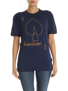 Vivienne Westwood Anglomania - New Classic T-shirt in blue