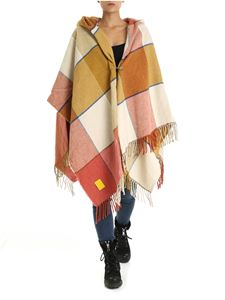 Vivienne Westwood  - Yellow and pink checked poncho
