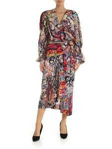 Vivienne Westwood  - Multicolor shirt dress with sash