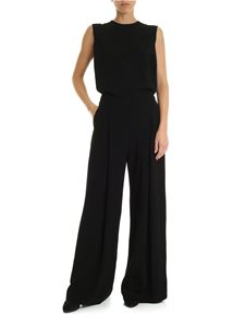 McQ Alexander Mcqueen - Sleeveless black jumpsuit