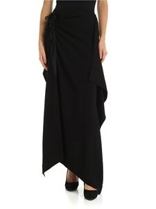 McQ Alexander Mcqueen - Black flared skirt