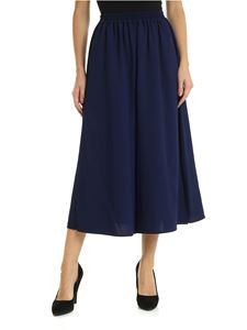 See by Chloé - Blue palazzo trousers