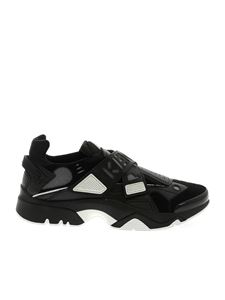 Kenzo - Sonic Scratch sneakers in black