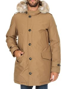Woolrich - Polar parka jacket in light brown color