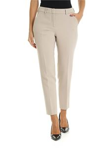 Peserico - PME Pantalone stretch color tortora