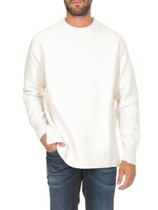 Jil Sander - Sweater in cream color with rear patch