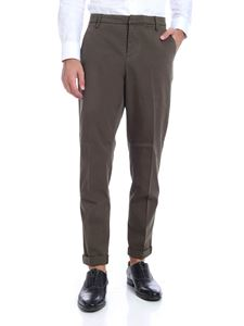 Dondup - Gaubert trousers in Army green color