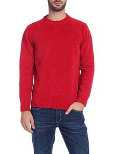 Paolo Pecora - Chenille pullover in red