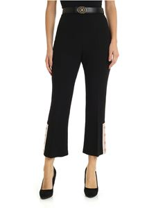 Elisabetta Franchi - Black virgin wool trousers
