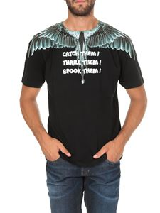 Marcelo Burlon - T-shirt Catch Them Wings nera