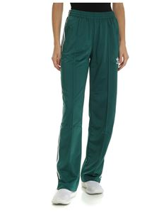 Adidas - Adidas Originals green pants with 3 Stripes