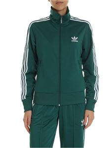 Adidas - Adidas Originals Firebird TT green sweatshirt
