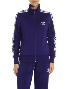 Adidas - Adidas Originals Firebird TT purple sweatshirt