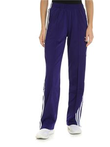 Adidas - Adidas Originals 3 Stripes purple pants