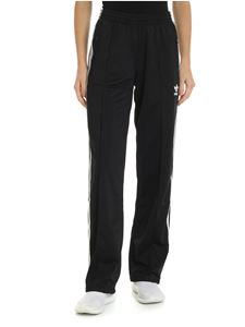 Adidas - Adidas Originals black pants with 3 Stripes