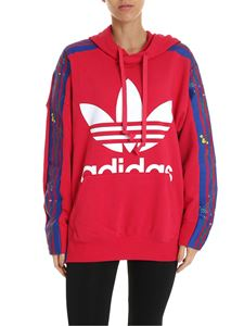Adidas - Adidas Originals Flower Hoodie sweatshirt