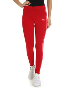 Adidas - Leggings 3 STR Tight rossi