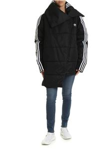 Adidas - Adidas Originals Tracktop down jacket in black