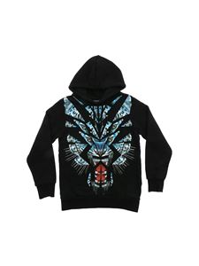 Marcelo Burlon Kids - Tiger hoodie in black