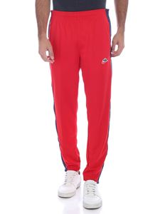 Nike - Pants in red with blue side bands