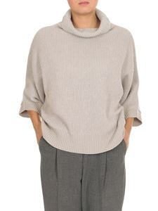 Peserico - Beige knitted pullover