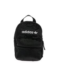 Adidas - Black chenille backpack
