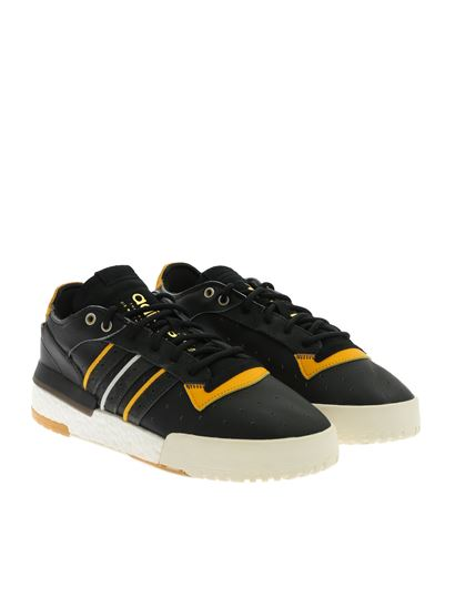 Adidas Originals Shoes India Adidas Rivalry RM Black Shoes