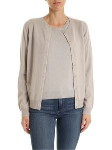 Kangra Cashmere - Twin set cardigan and pullover in beige