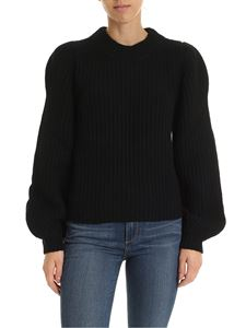Michael Kors - Black pullover with puffed sleeves