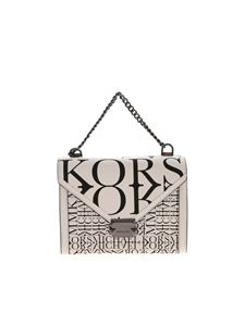 Michael Kors - Whitney shoulder bag in black and white