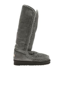 Mou - Eskimo 40 high boots in gray