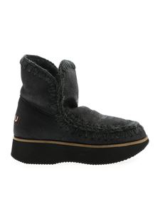 Mou - Eskimo Running Ankle Boots in black
