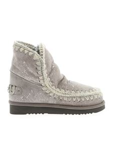 Mou - Eskimo 18 ankle boots in pearl gray