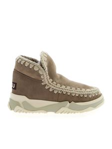 Mou - Eskimo Trainer boots in mud color