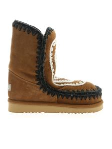 Mou - Eskimo 24 boots in camel color