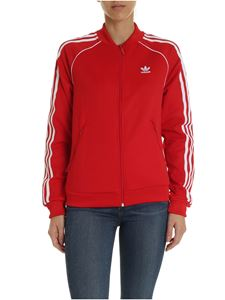 Adidas Originals - SS Track sweatshirt in red