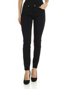 Calvin Klein - Black slim fit trousers with logo