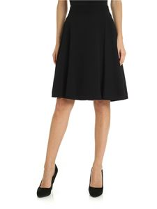 Calvin Klein - Skirt in black crepe