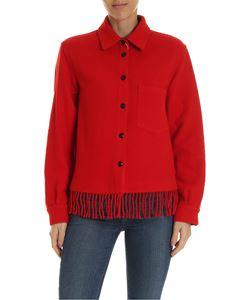 Woolrich - Blanket shirt in red