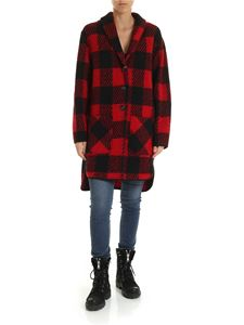 Woolrich - Gentry coat in black and red