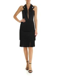 Elisabetta Franchi - Black fringed dress