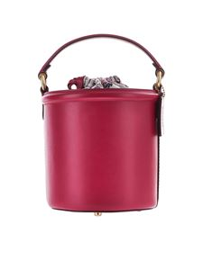 Coach - Red Bucket bag with drawstring