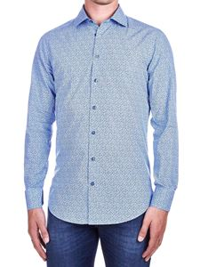 Etro - Floral print shirt in light blue