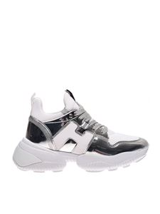 Hogan - Mirror effect Interaction sneaker in white