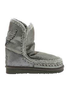 Mou - Eskimo 24 Eagle ankle boots in grey
