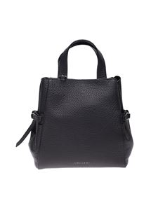 Orciani - Fan handbag in black