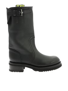 Ash - Troy boots in black