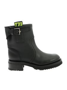 Ash - Tycoon ankle boots in black